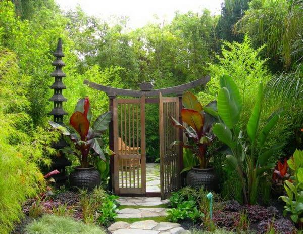 แต่งสวนสวยสไตล์ญี่ปุ่น ที่บ้านเดี่ยวพระราม5