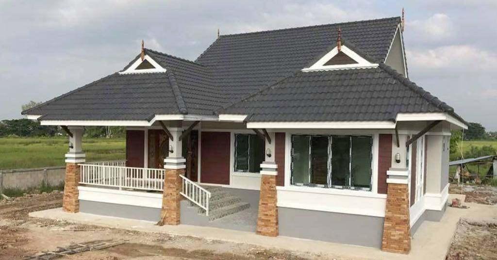 บ้านไทยประยุกต์ชั้นเดียว สวยคลาสสิกผสานความเก่าและใหม่ได้อย่างลงตัว